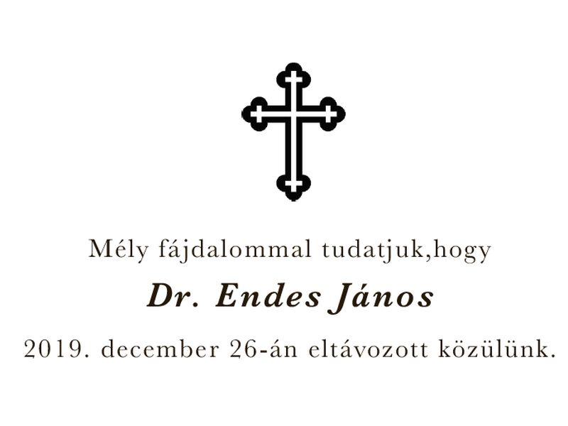 Dr. Endes János búcsúztatása