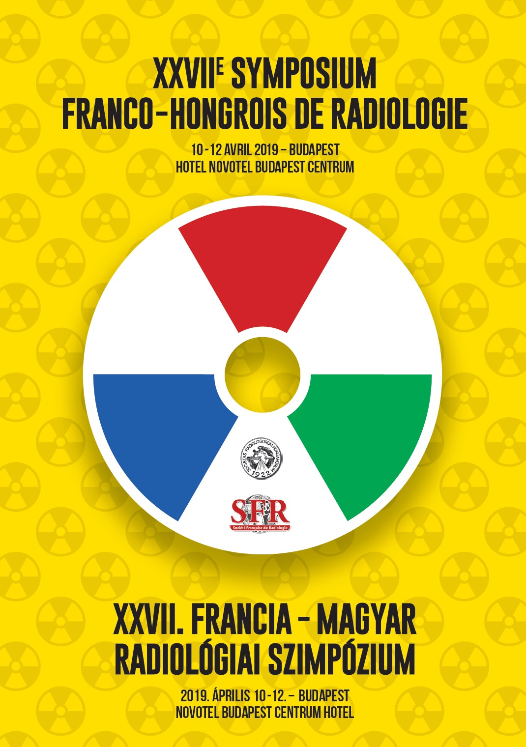 2019. 04.10-12.: XXVII. Francia-Magyar Radiológiai Szimpózium