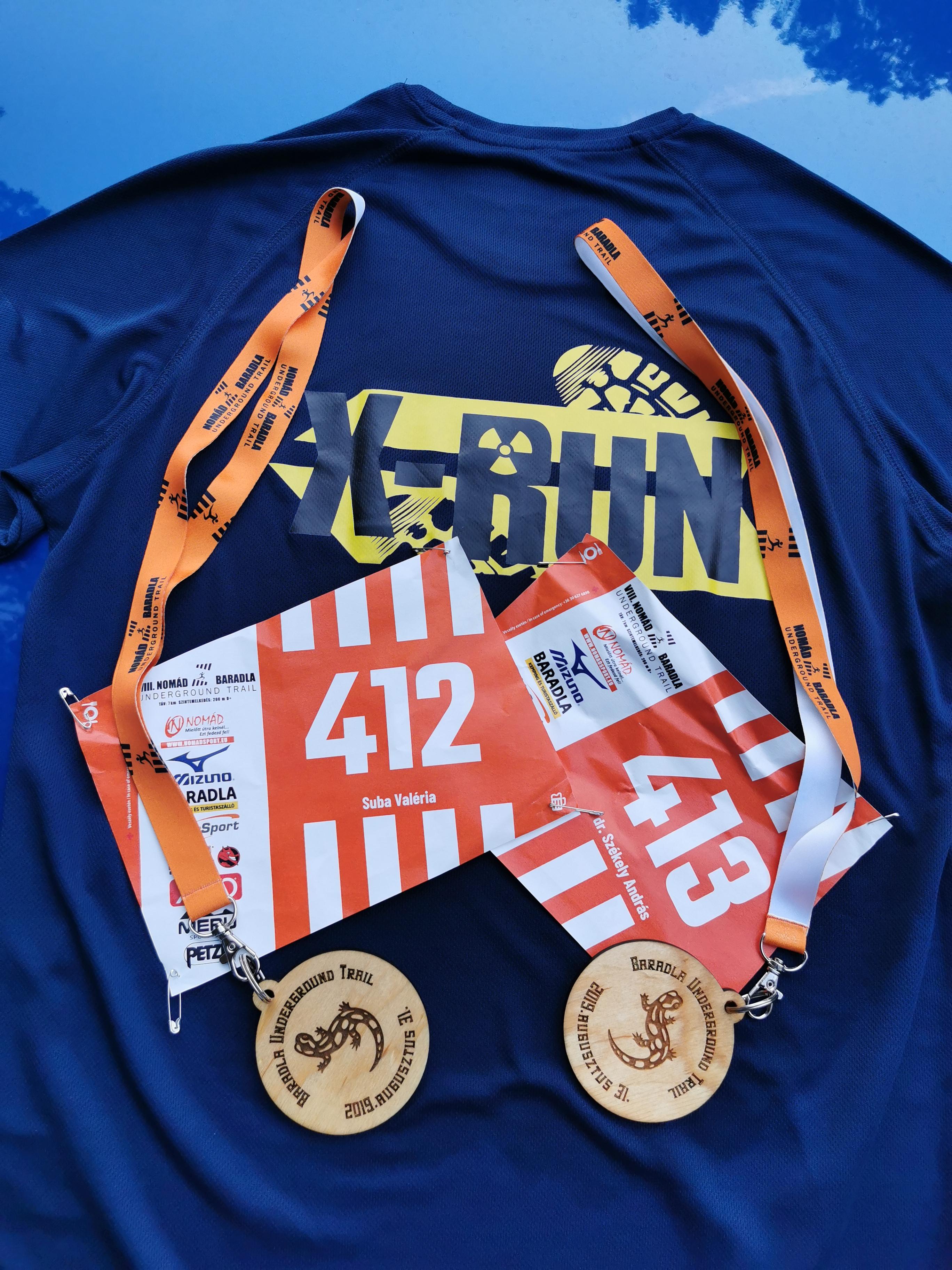 X-Run a VIII.-dik Baradla Trail futóversenyen