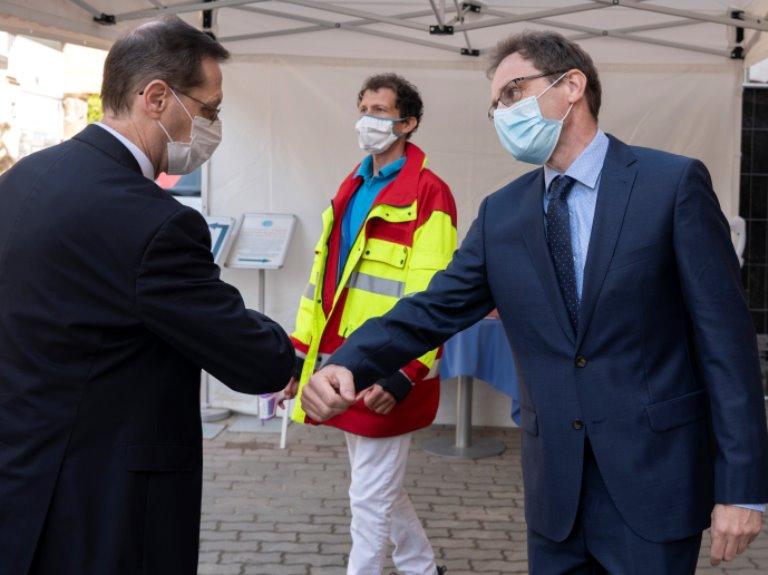 Átadták a Szent Ferenc kórház felújított szárnyát