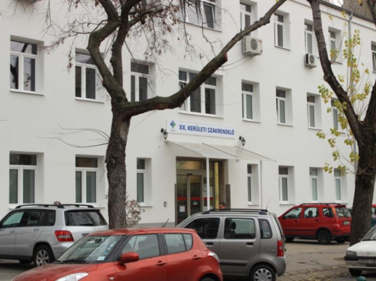 Megújul a Jahn Ferenc Kórház pesterzsébeti szakrendelője