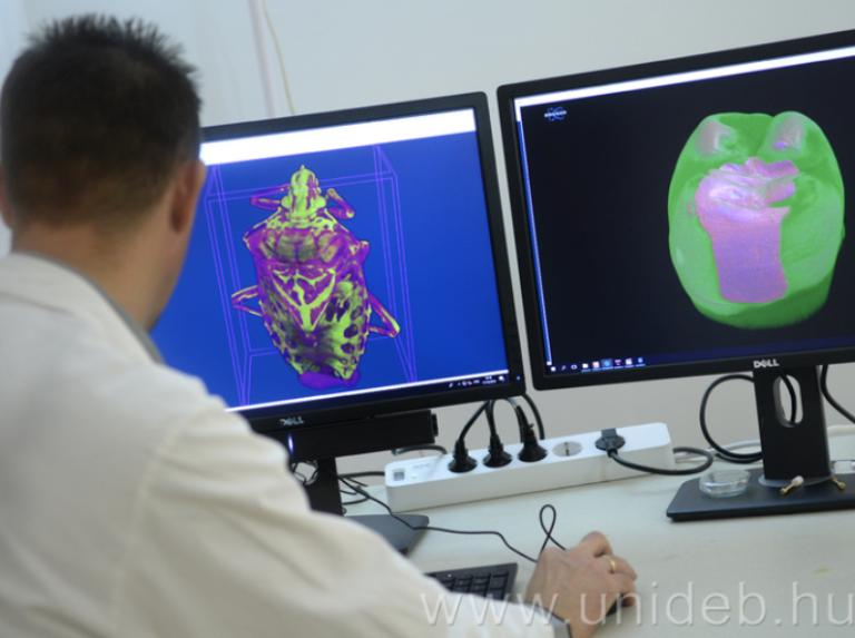 Egyedülálló mikro CT az egyetemen