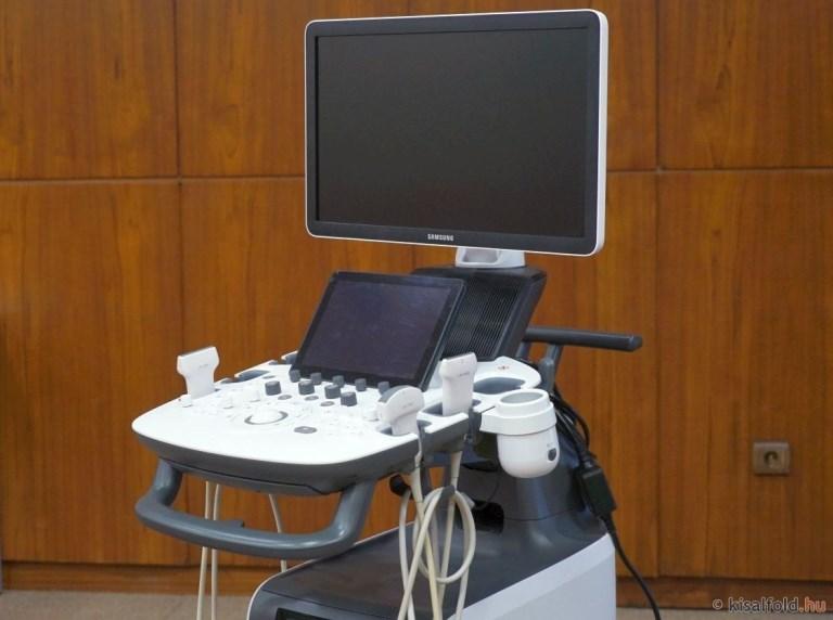 Két új ultrahang készüléka győrikórházban