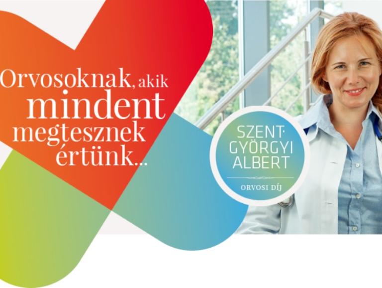 Ma indul a szavazás a Szent-Györgyi Albert Orvosi Díj jelöltjeire