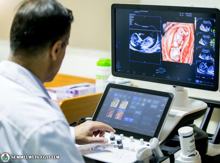 Az ország legmodernebb ultrahang készüléke a klinikán