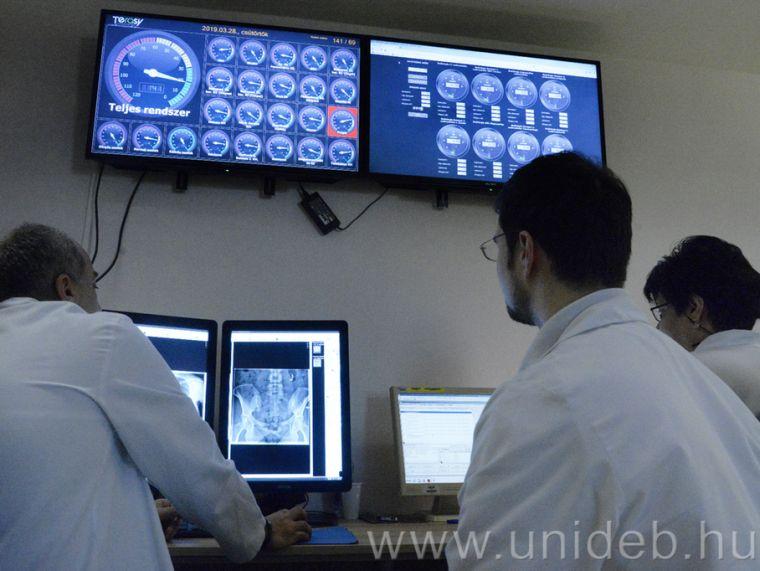 Egyedülálló értékelési módszer a Kenézy radiológiáján