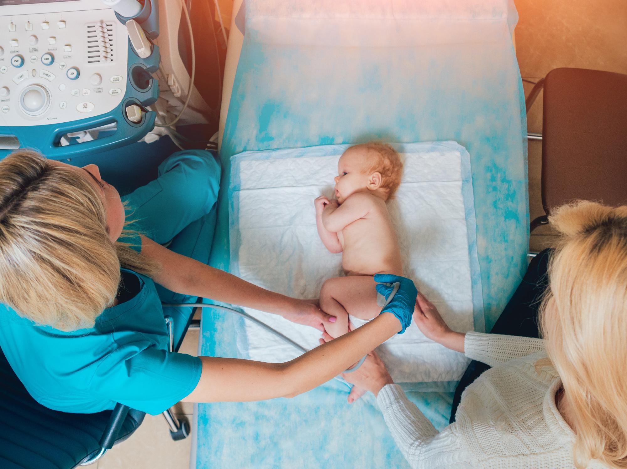 Újszülöttek: a gerinc ultrahang a jövő diagnózisa